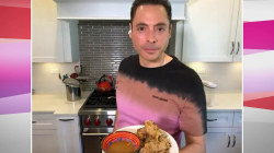 Make Jeff Mauro's honey-nut cereal chicken fingers