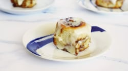 These no-yeast cinnamon rolls are pillowy soft