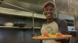 Marcus Samuelsson makes comfort food: red snapper with summer succotash