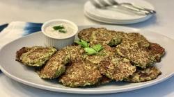 Make Joy Bauer's savory garden pancakes