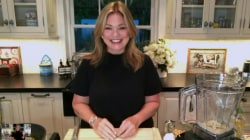 Valerie Bertinelli demonstrates how to make 4-ingredient hummus
