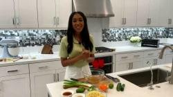 Megan Hysaw uses miso glaze for sesame noodles