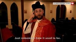 Reverend sends message to congregation through viral 'Hamilton' parody