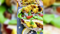 Use cauliflower for 2 delicious vegan meals