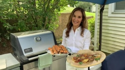 Joy Bauer makes grilled shrimp ahead of Labor Day Weekend