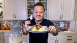 Jet Tila makes kabobs for two delicious meals
