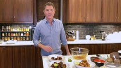 Make Bobby Flay's chipotle-honey chicken wings for game day