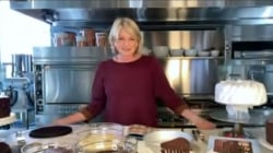 Martha Stewart shares her golden rules for cake baking