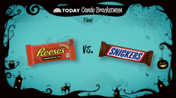 TODAY Candy Bracketween: Reese's cups and Snickers will have a showdown