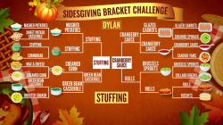 TODAY's Sidesgiving Bracket Challenge: Stuffing beats buttered rolls
