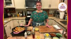 Make Karen Akunowicz's grilled broccoli Caesar salad