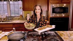 Make Joy Bauer's sweet potato pancakes