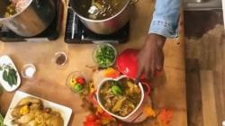 Lazarus Lynch makes his mom's chicken soup