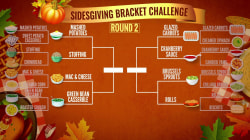TODAY's Sidesgiving Bracket Challenge: Mashed potatoes, stuffing advance