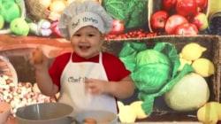Toddler chef Ilirian shows Hoda and Jenna his cooking skills