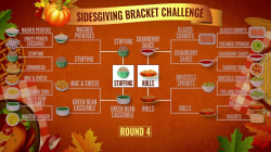 TODAY's Sidesgiving Bracket Challenge: It's stuffing vs. buttered rolls