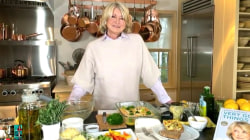 Martha Stewart talks about her new book and her New Year's