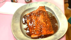 Madeleine Smithberg makes baked salmon