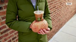 Panera creates bread glove for iced coffee lovers