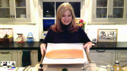 Valerie Bertinelli makes salmon 2 ways