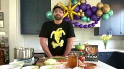Chef Alon Shaya makes jambalaya to celebrate Mardi Gras