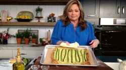 Make Valerie Bertinelli's asparagus and goat cheese tart