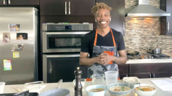 Chef Ed Harris makes vegan charred cauliflower soup