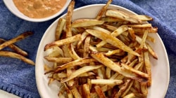 Make Joy Bauer's queso and French fries
