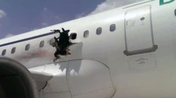 Mystery continues over cause of midair plane explosion