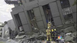 Buildings Collapse, Many Trapped After Earthquake Rocks Taiwan