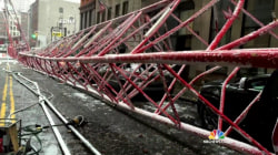 Massive NYC Crane Collapses, Leaving 1 Dead and 3 Injured