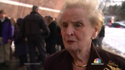 Madeleine Albright on Mission to Rally Women Voters to Clinton in New Hampshire