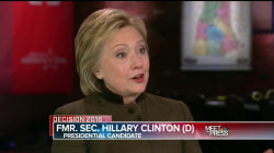 Hillary Clinton: Sanders Lacks Foreign Policy Network