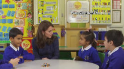Kate Middleton urges support for children with mental health issues