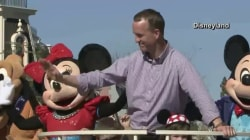Peyton Manning won the Super Bowl and went to Disney