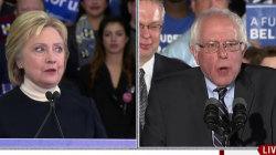 Clinton, Sanders Clash Ahead of Debate