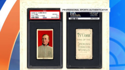 Rare Ty Cobb baseball cards found in an old paper bag