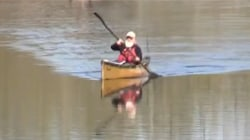 80-Year-Old Paddling Length of the Mississippi