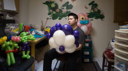 Gifted Autistic Boy Makes 'Ausome' Balloon Art