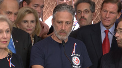 Jon Stewart, Lawmakers Push Congress for 9/11 Responders Healthcare
