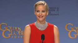 Golden Globe Winner Jennifer Lawrence Muses Extra Body Parts