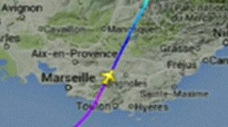 Watch Radar Track of Germanwings Flight