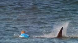 Watch Surfer Mick Fanning Fight Off Shark Attack