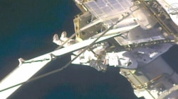 See Astronauts Conduct Spacewalk