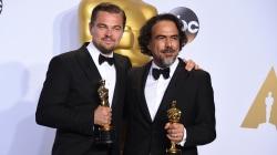 Leonardo DiCaprio, Alejandro Inarritu Revel in 'The Revenant'