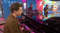 Charlie Puth performs platinum-selling hit 'Marvin Gaye'