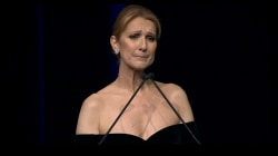 Celine Dion remembers her late husband with touching speech