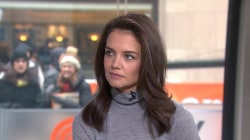 Katie Holmes discusses role in the 'intense' film 'Touched with Fire'
