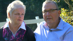 Not just for women: Meet the couple fighting breast cancer together