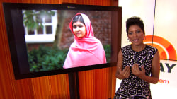 Supporters tweet encouragement for Malala Yousafzai